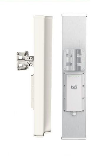 WIS-L5819S WisNetworks WIS-L5819S 2x2 Mimo 5 GHZ dahili sektorlü antenli Baz Istasyonu