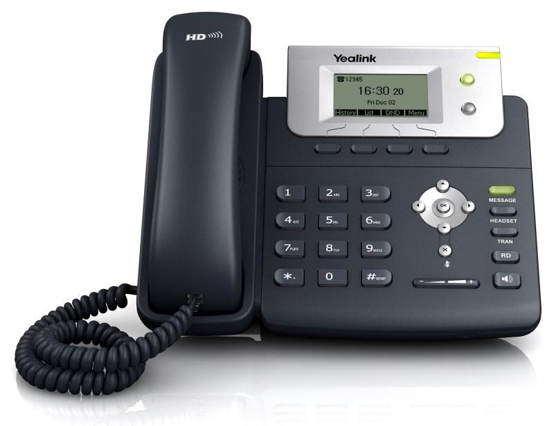 YE-SIP-T21-E2 YEALINK SIP-T21-E2 IP PHONE, 132X64-PIXEL LCD, 2XPORT, 2 SIP, HEADSET, WALLMOUNT
